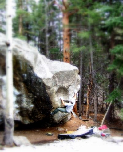 bouldering poudre canyon