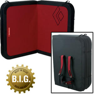 black diamond mondo crash pad, bouldering crash pad, black diamond crash pad, bouldering gear