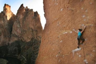 Smith Rock Climbing Photo